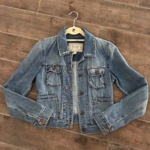 Abercrombie & Fitch blue jean jacket